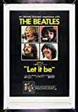 LET IT BE * CineMasterpieces THE BEATLES VINTAGE ORIGINAL ROCK MOVIE POSTER 1970 Amazon.com