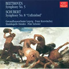 "Ludwig van Beethoven: Symphony No. 5 / Franz Schubert: Symphony No. 8, ""Unfinished"""