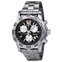Breitling Men's A7338710-BB49SS Colt Chronograph II Black Dial Watch by Breitling