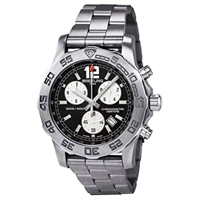 Breitling Men's A7338710-BB49SS Colt Chronograph II Black Dial Watch