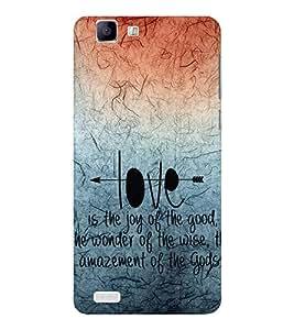 EPICCASE creation of god Mobile Back Case Cover For Vivo X 3s (Designer Case)