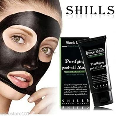 SHILLS 50ML Purifying Blackhead Remover Peel Facial Clean Black Face Mask