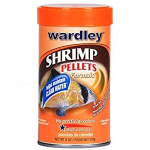 Wardley Premium Shrimp Pellets, 9-Ounce