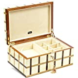 Martinelli Luxury Wooden Mens/Womens Jewelry Box From Italy