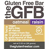 The GFB - Gluten Free Bar, Oatmeal Raisin - 12 Pack
