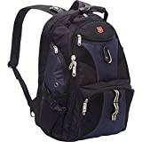 SwissGear Travel Gear ScanSmart Backpack 1900 (Black/Blue EXCLUSIVE COLOR)