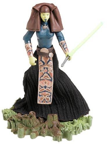 Star Wars Episode III 3 Revenge of the Sith LUMINARA UNDULI Jedi Master Action Figure #31