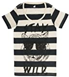 Glamour Kills Women's Striped Stay Wild T-Shirt