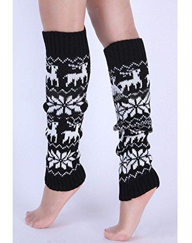 Knit Legging Socks Leg Warmer