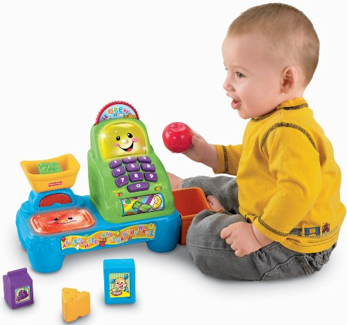 Fisher-Price Laugh and Learn Magic Scan Market (Laugh Learn Kitchen compare prices)