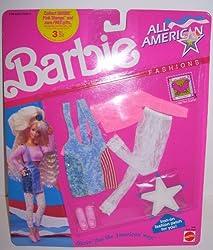 1991 Barbie Doll All American Fashions Set #9441