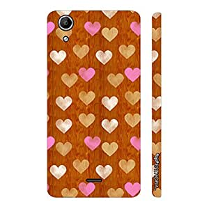 Micromax Canvas Selfie 2 Q340 Little Hearts designer mobile hard shell case by Enthopia