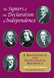 img - for The Signers of the Declaration of Independence: A Biographical and Genealogical Reference book / textbook / text book