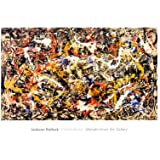 Convergence - Poster by Jackson Pollock (40 x 28)