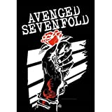 AVENGED SEVENFOLD FLAGGE / FAHNE / POSTERFLAGGE ROSEHANDS