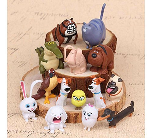 NEW 14 pcs The Secret Life of Pets Blind Bag Movie Toy PVC Mini Figure Set B