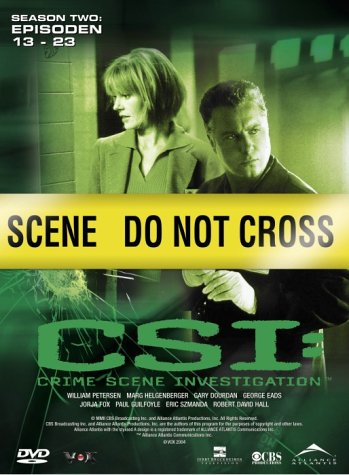 CSI: Crime Scene Investigation - Season 2.2 (3 DVDs)