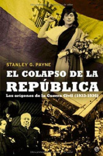Portada del libro El colapso de la república de Stanley G. Payne