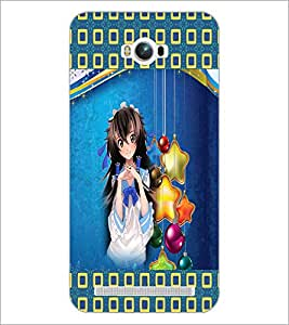 PrintDhaba Fantasy Girl D-5661 Back Case Cover for ASUS ZENFONE MAX ZC550KL (Multi-Coloured)