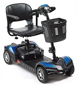Scout Portable 4mph Travel Car Boot Mobility Scooter