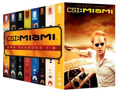 CSI: Miami - Seasons 1-8 (Csi Season 5 compare prices)