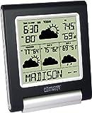 La Crosse Technology Weather Direct WD-3106UR-B 4 Day LITE Internet Powered Wireless Forecaster