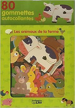 Les animaux de la ferme (French Edition): Melusine Allirol