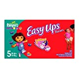 Pampers Easy Ups for Girls, Size 5, 80 Count ~ Pampers