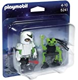 Playmobil - 5241 - Figurine - Duo Agent Spatial Et Robot