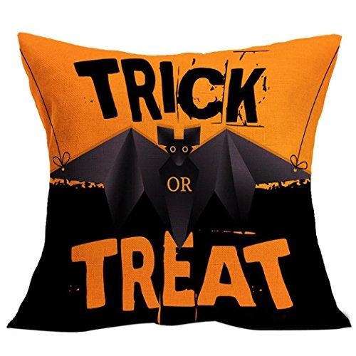 [해외]할로윈 장식, Charberry 베개 케이스 소파 허리 던져 쿠션 커버 홈 인테리어/Halloween Decor, Charberry Pillow Case Sofa Waist Throw Cushion Cover Home