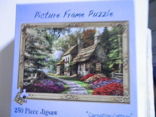 Carnation Cottage Jigsaw Puzzle, 250 Piece Puzzle