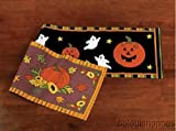 Fall Harvest Halloween Thanksgiving Table Runner REVERSIBLE Season Decorative Decor Brand New