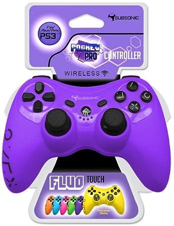 Pocket Pro Controller Flou Touch - Purple (PS3)