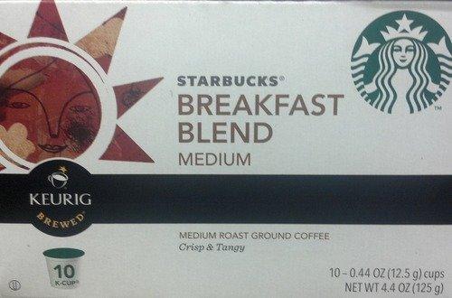 Keurig K Cups Starbucks Breakfast Blend