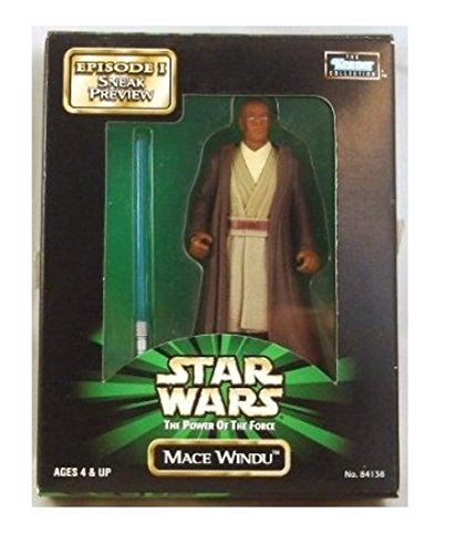 "Star Wars Power of the Force 3 3/4"" Mace Windu Sneak Preview Mailaway Action Figure"