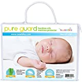 Waterproof Crib Mattress Cover - Ultra Soft, Dryer Friendly, Bamboo, Crib Mattress Protector Pad