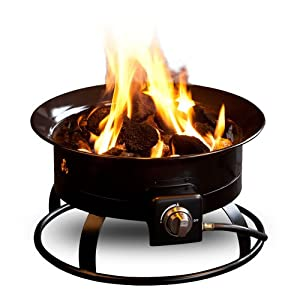 Outland Fire Bowl 820 Portable Propane Fire Pit from FMI Brands Inc.
