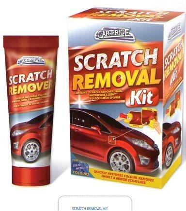CAR PRIDE SCRATCH REMOVAL KIT FOR SOLID/METALLIC COLOUR