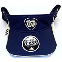 Notre Dame Fighting Irish Velcro Strap Back Adidas Visor - W532Z