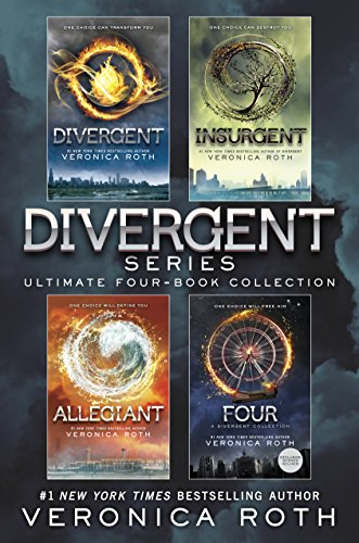 Veronica Roth - The Divergent Library: Divergent; Insurgent; Allegiant; Four: The Transfer, The Initiate, The Son, and The Traitor