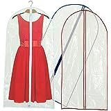 Lot de 12 housses transparentes de protection pour vêtements 152x60cm Hangerworld