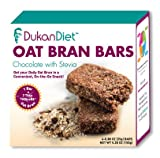 Dukan Diet Oat Bran Bars Chocolate - 5.28 oz