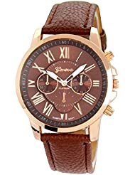 COSMIC Platinum Collection Brown & Rose Gold Analog Watch - For Women,GIRLS