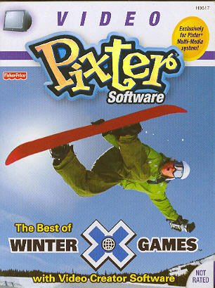 Pixter Multi-Media System: The Best of Winter X Games with Video Creator Software - 1
