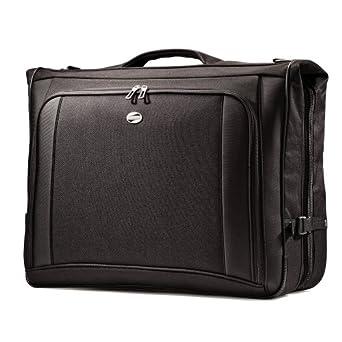 "American Tourister Luggage Ilite Supreme Ultravalet Garment Bag, Black, 23"""