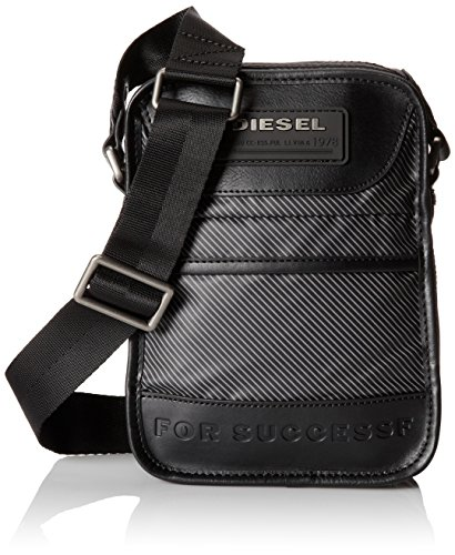 Diesel NEW FELLOW X02401 P0426 H4515 borsa nero/grigio