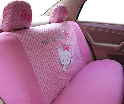 EMS Shipping kitty Auto Car Seat Cover Accessories - 10pcs Kit (Model: ZJ000151)