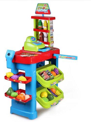 Deao supermercado tienda supermarket mercado con carrito - Accesorios para supermercados ...