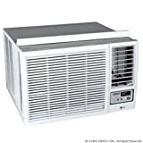 LG Heat / Cool Window Air Conditioner with Remote - 12000 BTU