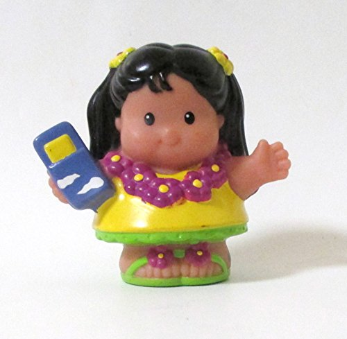Fisher-price Little People Replacement Figure Mia Hawaiian Vacation Greeter 2008 - 1
